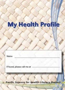 My Health Profile booklet cover