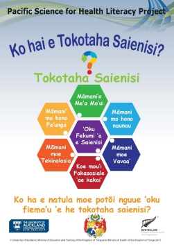 Who is a Scientist - TONGAN