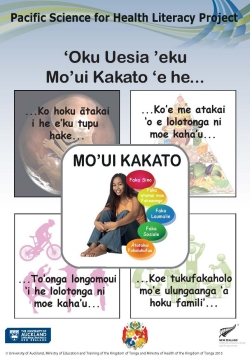 My Health and wellbeing - TONGAN
