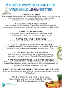 Help Your Child learn better